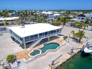 ISLAMORADA RENTAL Waterfront Home GREEN IVIS PARADISE. MIN 28 Night. Max 10 ppl