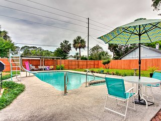 Tybee Island Home on 2 Lots - Walk to Ocean!