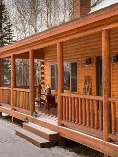 Rangeley Lake Resort Front Porch