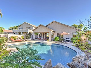 Phoenix Home w/Private Pool & Grill on Golf Course