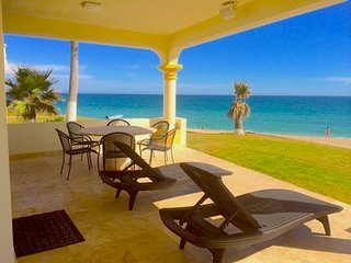 Stunning 3 Bedroom Beach Villa on Sandy Beach Las Palmas Beachfront Resort V-05