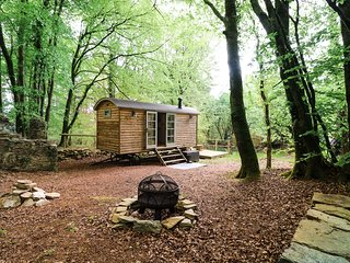 ROCK VIEW SHEPERD'S HUT, woodland retreat, studio accommodation, Tamar Valley AO