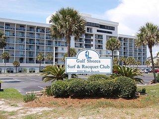 Gulf Shores Surf & Racquet 214A: