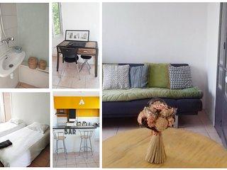 Aubagne/Provence  bel appartement T3 independant avec vue