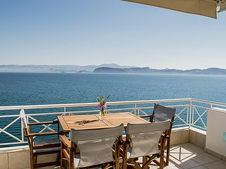 Waterfront Holiday Apartment,  Amazing Sea View, Kiveri village, Nafplion