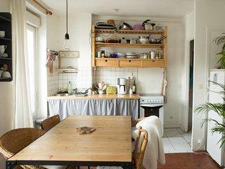 Appartement lumineux de 40 m²- Canal Saint-Martin
