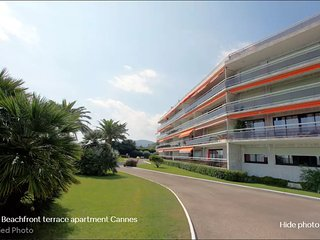 Beachfront Apartment - Seaview Cannes Mandelieu - Residence Etoile de Mer