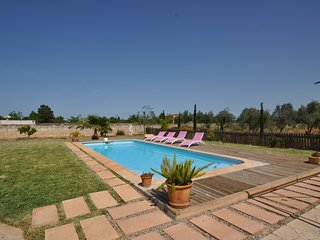 Villa 9 pax, en Sencelles, Private Pool, TV Sat, Wifi
