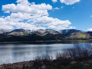On Vallecito Lake
