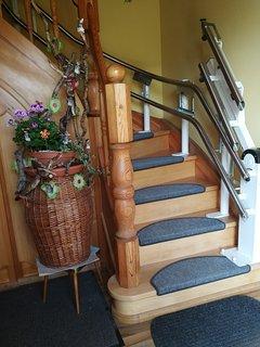 Treppenlift vorhanden