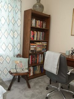 Private work space w free WiFi. Desk & professional office chair