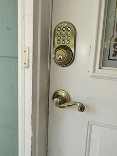 Keyless entry! Check in any time. Code provided at time of booking. Backup lock box, too!