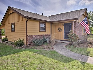 NEW! Tulsa Home on 1.5 Acres ~ 15 Mins to Downtown