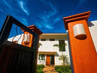 Casa Pelicano, where the jungle meets the sand in beautiful San Pancho, Mexico