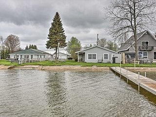 NEW! Houghton Lakefront Condo w/ Boat Dock!