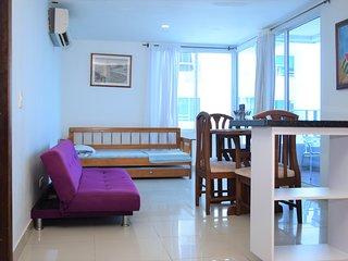 Apartamento Con Balcon Y Vista Al Mar