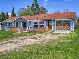 Rustic House w/Porch & Yard - Near Lake St. Helen!
