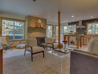 NEW LISTING! Newly remodeled space w/private hot tub & wood stove - walk to ski!