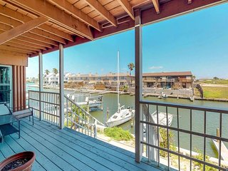 Waterfront, dog-friendly getaway w/ shared pools, fitness room, & picnic area