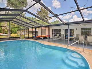 Dunnellon Home on Rainbow River w/ Pool!