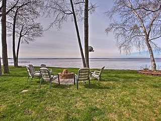 NEW! Lovely Houghton Lake Home w/Waterfront Views!