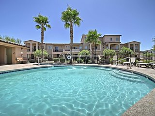 NEW! Mesa Resort Townhome w/ Patio, Pool, & Spa!