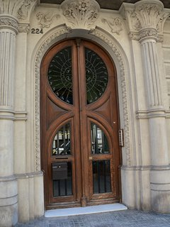 A door in the neighborhood