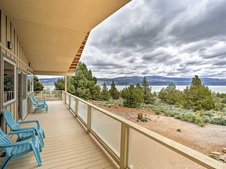 Eagle Lake Home w/ Lake Views & Trail Access!