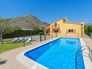 5 bedroom Villa in Port de Pollenca, Balearic Islands, Spain : ref 5622958