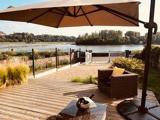 Gîte 'Un Brin de Loire' entre Angers et Nantes, avec vue sur Loire