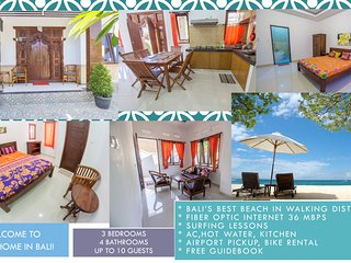 3BR house Near Nusa Dua beach and BTDC! 36 Mbps FIBER OPTIC