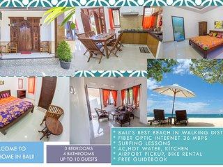 3BR house Near Nusa Dua beach and BTDC! 36 Mbps FIBER OPTIC
