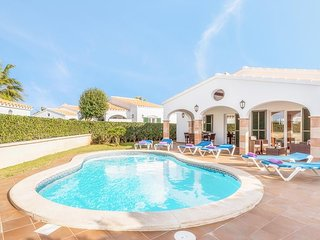 3 bedroom Villa in Cap d'Artrutx, Balearic Islands, Spain : ref 5334757