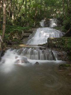 Where else can you stay and enjoy your own private waterfalls!