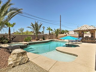 Family Home w/ Backyard Oasis - Lake Havasu 2 Mi!
