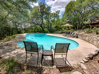 NEW LISTING! Expansive property w/two pools, hot tub & deck - dogs welcome