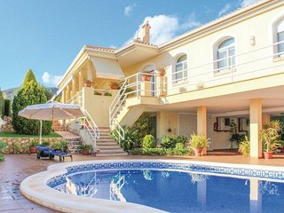 villa in traditional style close to beaches
