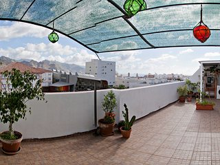 Ático con terraza en el centro de Santa Cruz
