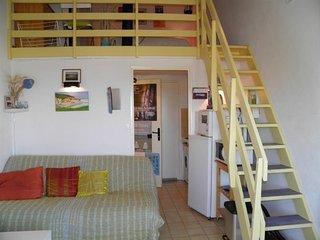 Studio mezzanine  vue  Mont Saint Clair