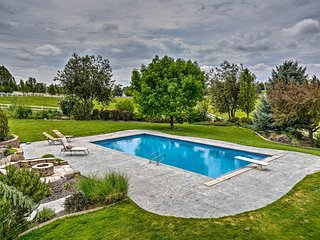 Tranquil Treasure Valley Apt on 10 Acres w/Pool!