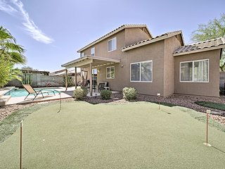 Private Goodyear House w/ Pool & Putting Green!