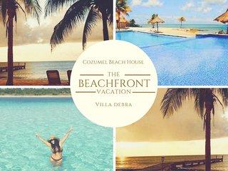 Cozumel Beach House Villa Paradise Cozumel Luxury Master Suite