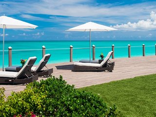 Villa Conch - Beach Front - Located in  Exquisite Grace Bay with Private Pool