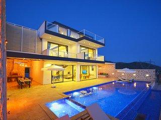 Villa Yuce 2, Heated Indoor Pool, Sauna, Turkish Bath, Kids Pool, Jacuzzi