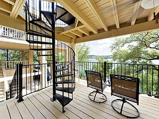 Lake Travis 3BR w/ Game Room, Private Dock & Sweeping Views at Point Venture