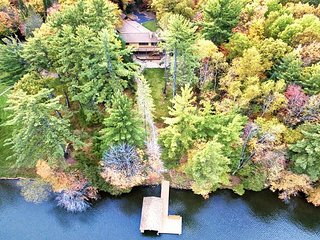 Luxurious 7 Bedroom, 4 Bathroom Estate on the Eagle River Chain of Lakes