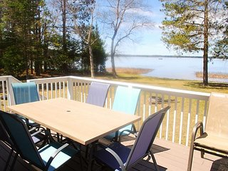 Beautiful 3 bedroom and 2 bath home on Big St. Germain Lake. All new.