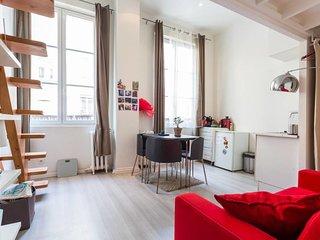 Grand Studio en Mezzanine - Bonne Nouvelle