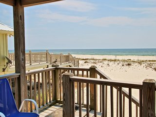 Tromba delle scale per la spiaggia