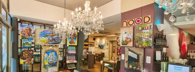 'Nood' Coffe Shop for Breakfast and light Lunches